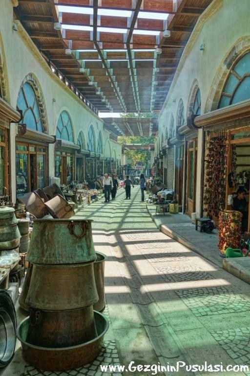 Kahramanmaraş'taki Bakırcılar Çarşısı