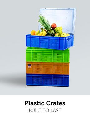 Built to Last. Build to Stand. Plastic Crates By Nilkamal only on Bizongo. #plastic #crates #strong #sturdy #sizes #dimesions #fruits #vegetables #packaging #rigid #buy #online #bizongo #b2b #ecommerce #startup