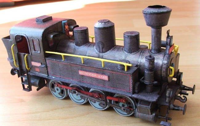 Steam Locomotive 422.025 Archivevoda Karel Free Paper Model Download - http://www.papercraftsquare.com/steam-locomotive-422-025-archivevoda-karel-free-paper-model-download.html#143, #Locomotive, #Railway, #SteamLocomotive, #Train