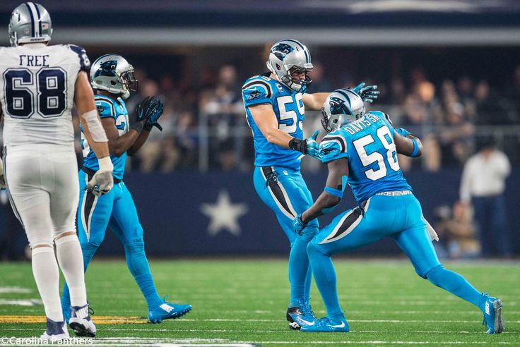 These two...#58 & #59! Color Rush, Thanksgiving Day, Dallas - We WON!!