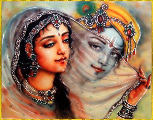 RADHA KRISHNA Artist: Mahendra Dubey http://mahendradubeyartist.com/