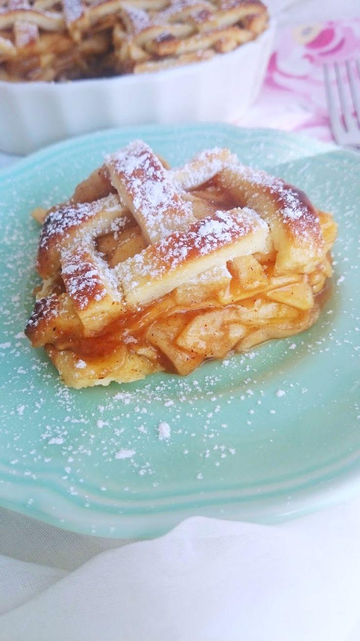 ¡Apple Pie Fácil! Receta de tarta de Manzana.