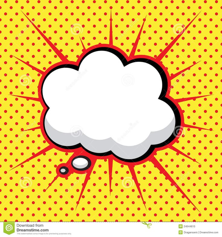 Comic Book Speech Bubble ,Pop Art Background Stock Vector - Image ...