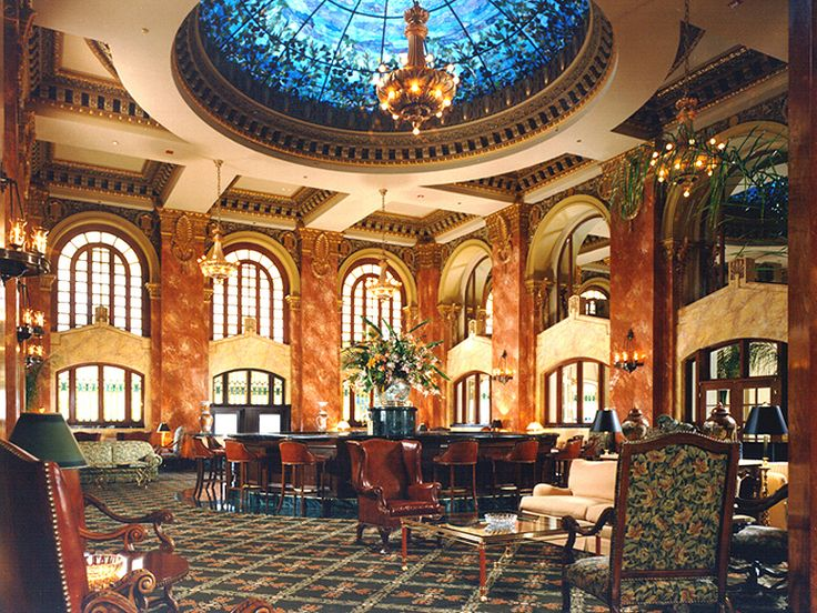 Come eat and drink under the Tiffany Dome in the Dome Bar and Grill in the Camino Real Hotel in downtown El Paso.  Stunning!