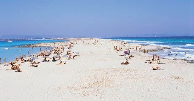 Naturisme Formentera naaktstrand Spanje Balearen