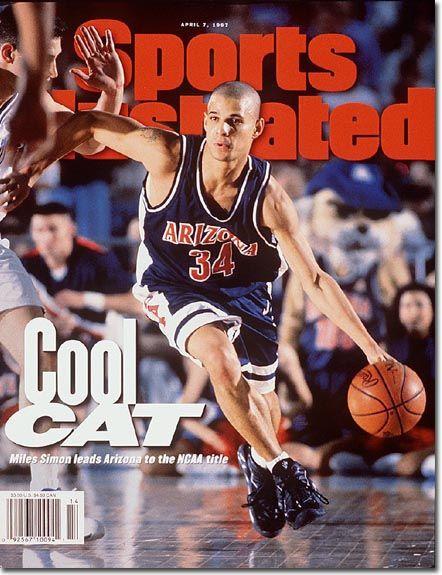 On the Cover: Miles Simon, Basketball, University of Arizona Wildcats 1997 Photographed by: John Biever