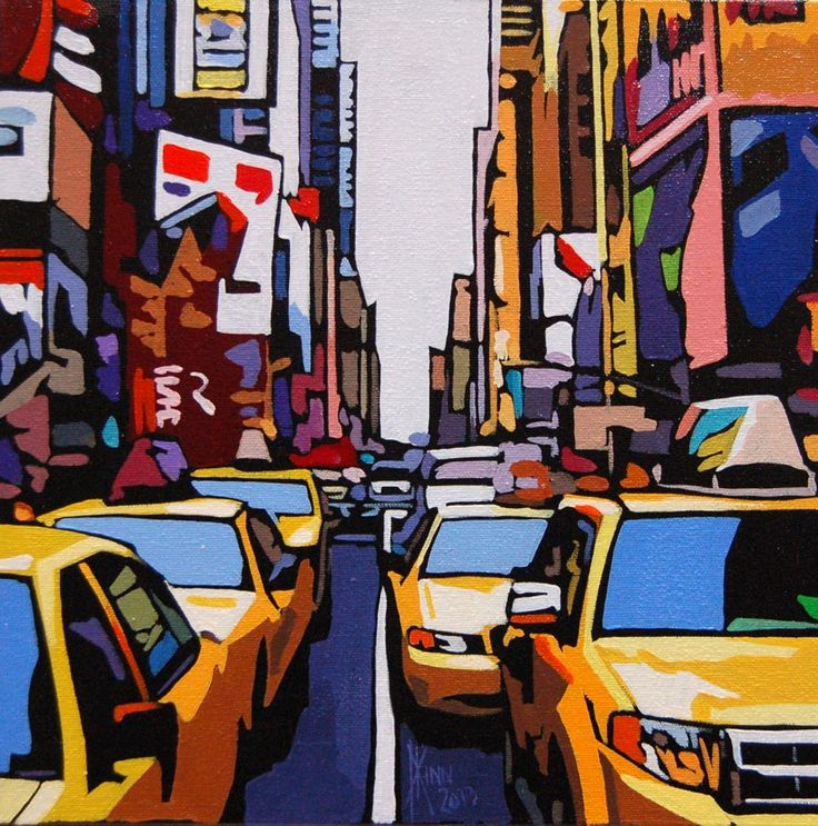 View and buy this Acrylic on Canvas Painting by Patrick Kinn