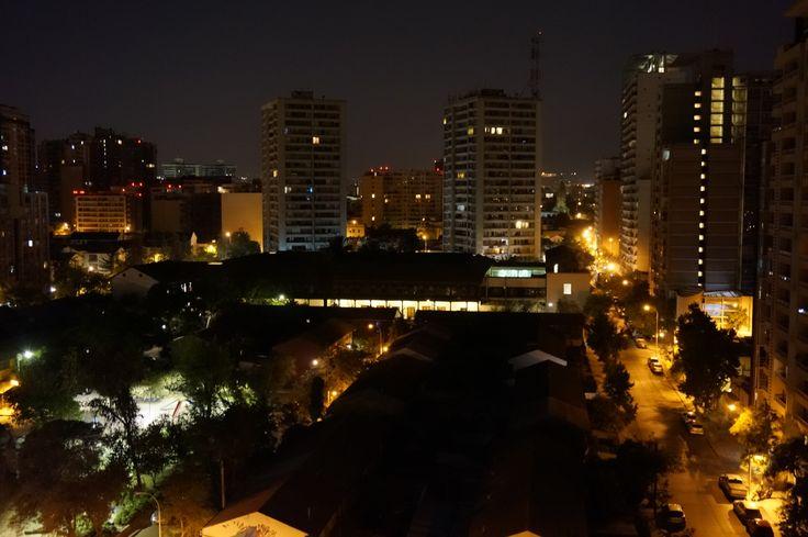 vista real nocturna