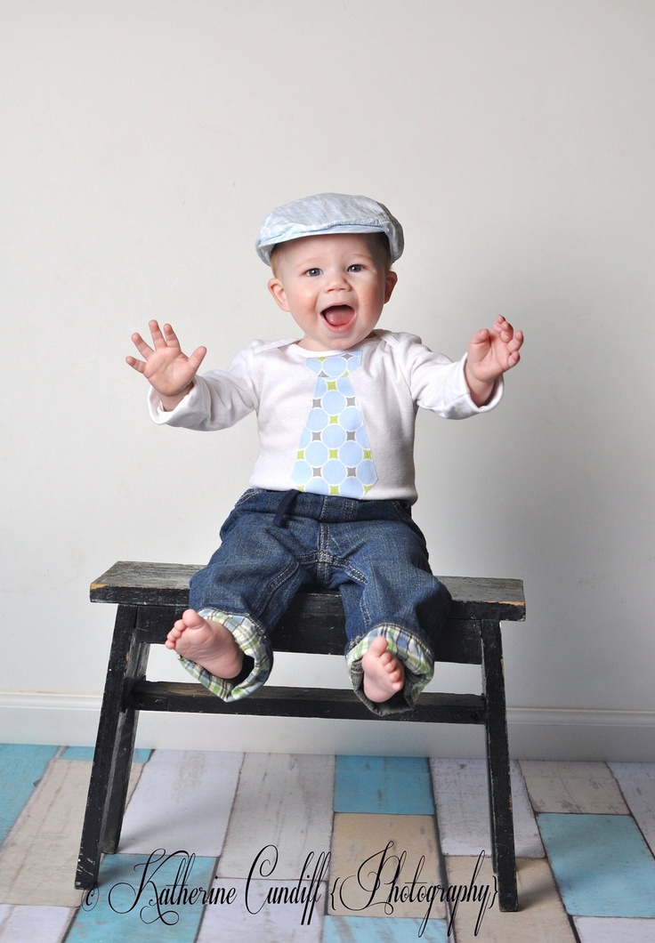 Baby Gifts For Second Boy : Baby boy cake smash birthday gift tie onesie any on