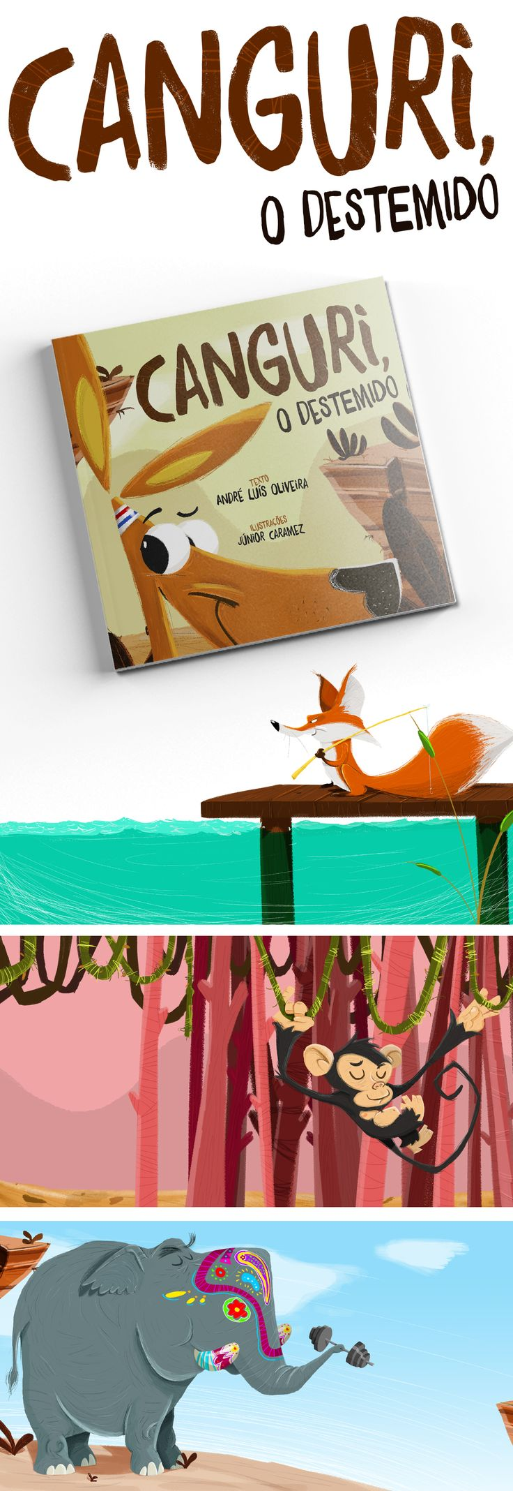 "Book ""Canguri, o Destemido"" on Behance"