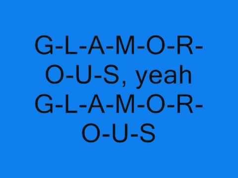Fergie [Ft. Ludacris] - Glamorous [Lyrics On Screen]