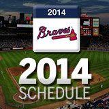 2014 Atlanta #Braves Season Schedule : atlanta.braves.mlb