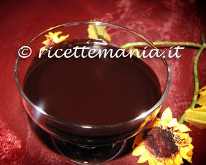Glassa lucida al cioccolato: Mettete in ammollo in acqua ben fredda (altrimenti i fogli di gelatina potrebbero rompersi tutti) la colla di pesce. In una casseruola misce