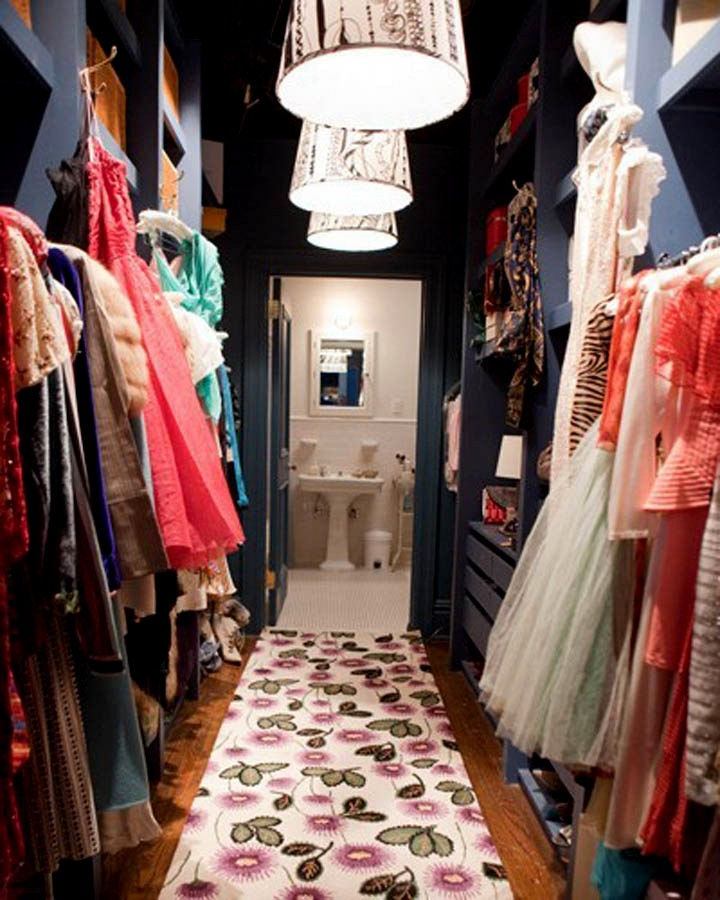 Carrie Bradshaw room