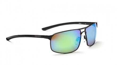 Optic Nerve Alloy Sunglasses Black-Plrzd Brwn Zaio Grn