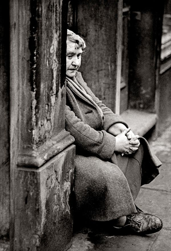 """john Claridge - The Doorway, E2 (1962) - """"To this day I would still like to know where her thoughts were."""""""