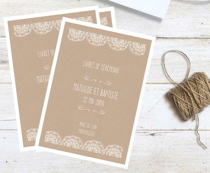 56 best images about livrets de messe mariage on pinterest unique wedding programs wedding. Black Bedroom Furniture Sets. Home Design Ideas