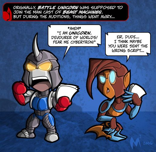 Lil Formers - Beast Machines by MattMoylan on DeviantArt