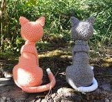 amigurumi capcrochet crochet chat amineko animaux poupée