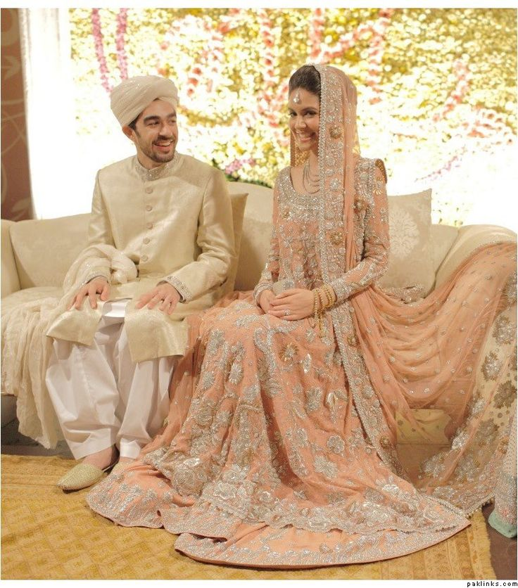 pakistani bridal wear, outfit for Nikkah
