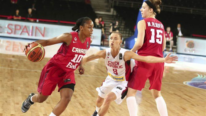 Canada qualifies for quarters at World Championship. http://olympic.ca/2014/09/27/canada-bigins-fiba-world-champs-with-a-win/