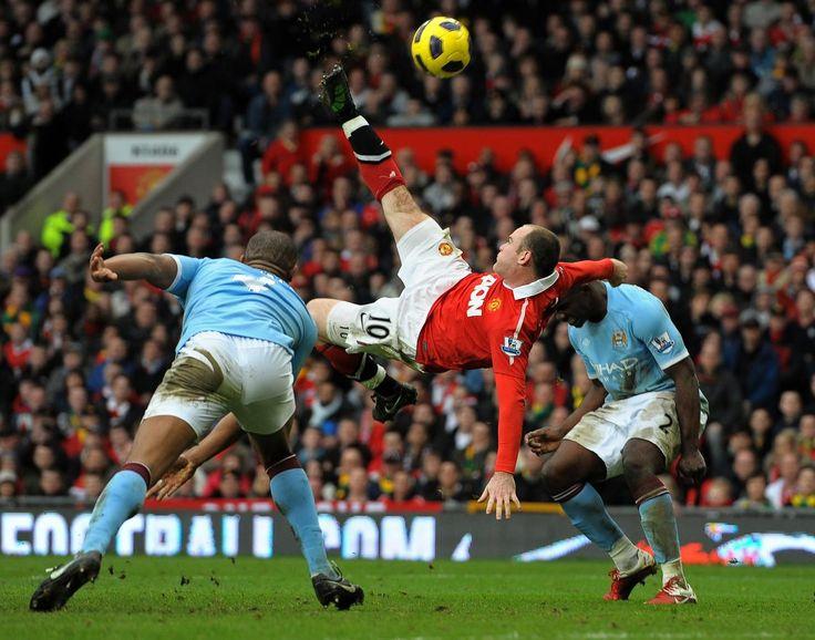 Wayne Rooney Goal Bicycle Kick Rooney risk ev