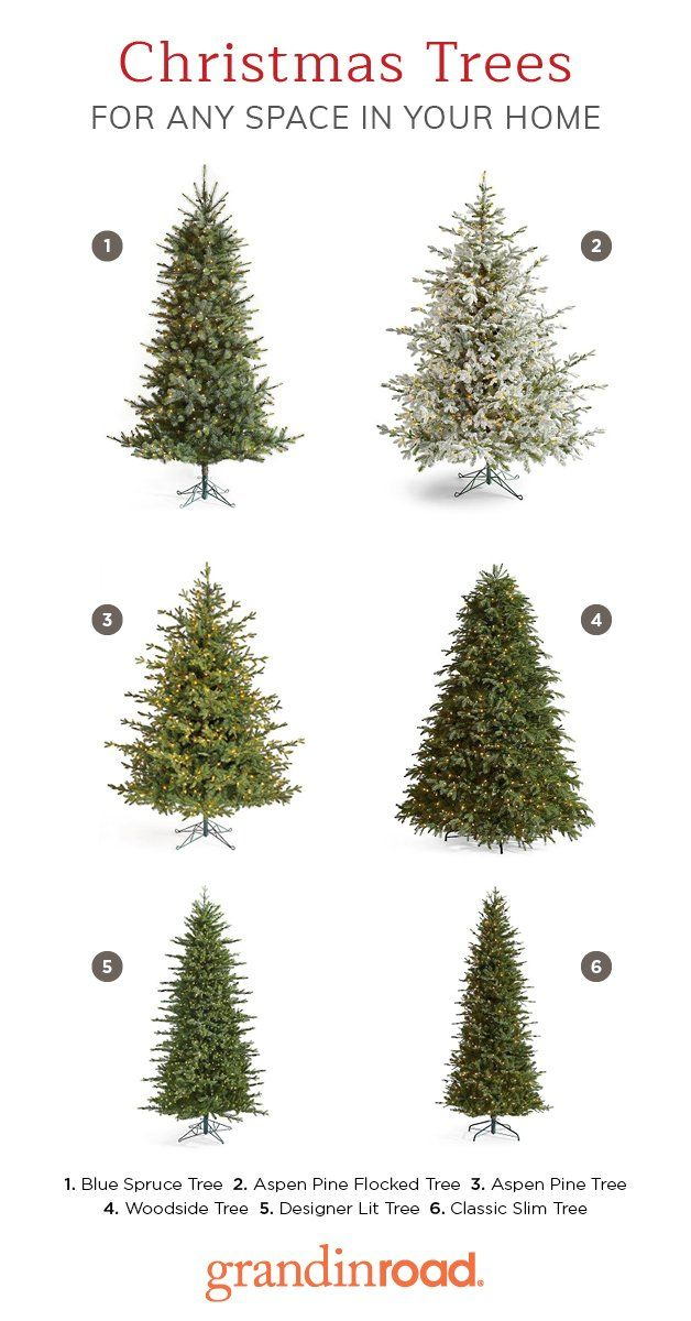 Find The Perfect Artificial Christmas Tree To Showcases Your Special Holiday Style At Slim Christmas Tree Faux Christmas Trees Best Artificial Christmas Trees