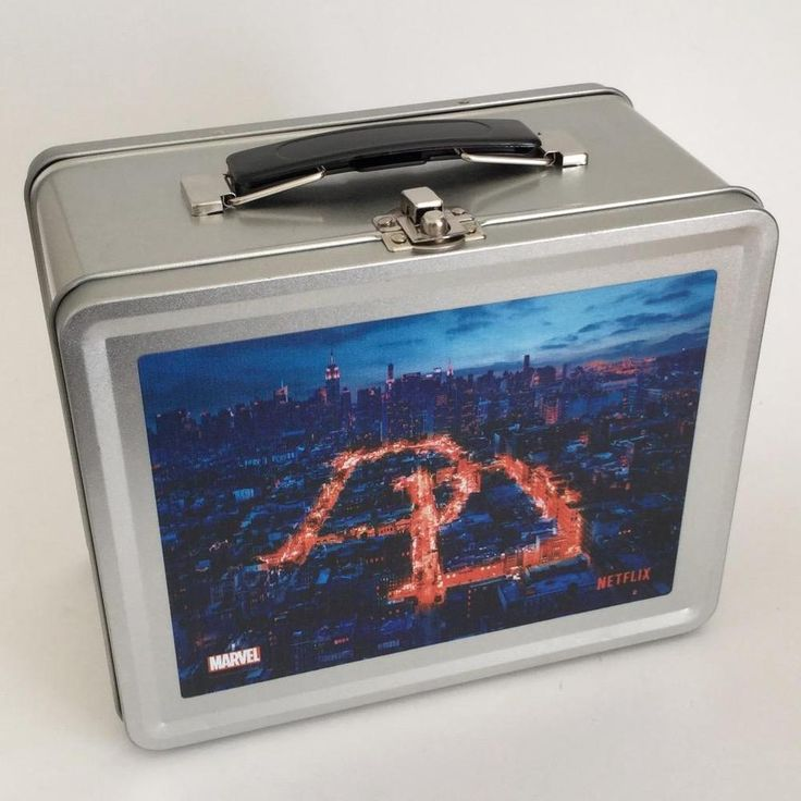 Netflix Marvel Daredevil Series Promotional Lunch Box Lunchbox