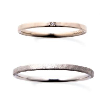 結婚指輪・ジュエリー SIENA - Bridal   【New】 KANAERU 叶える/平打ち(最細)