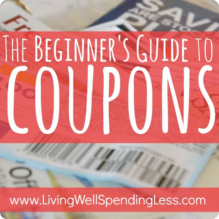 The Beginner's Guide to Coupons–this is seriously the BEST online guide to learning how to extreme coupon! Breaks the whole process down into easy-to-follow baby steps that anyone can learn! – Living Well Spending Less™