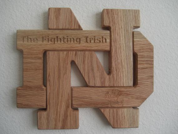 Fighting Irish ND by Intarsiabydesign
