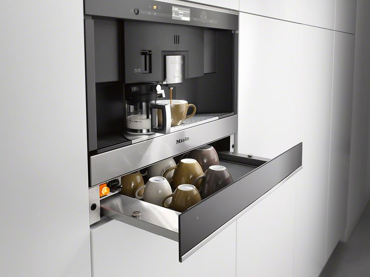 CVA 6431 - Built-in coffee machine with Nespresso system for uncomplicated convenience and enjoyment in capsules.--Stainless steel/CleanSteel