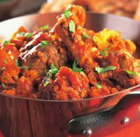 Recipe for Curried Lamb Shanks