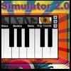 Piano simulator , the best way to play music !