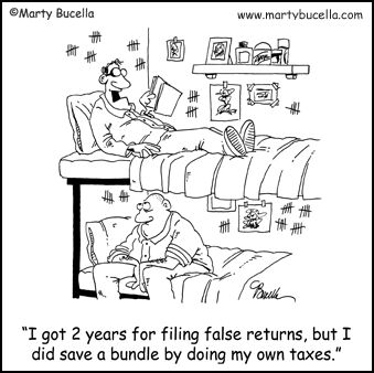 Tax Humor - but again is very very real!