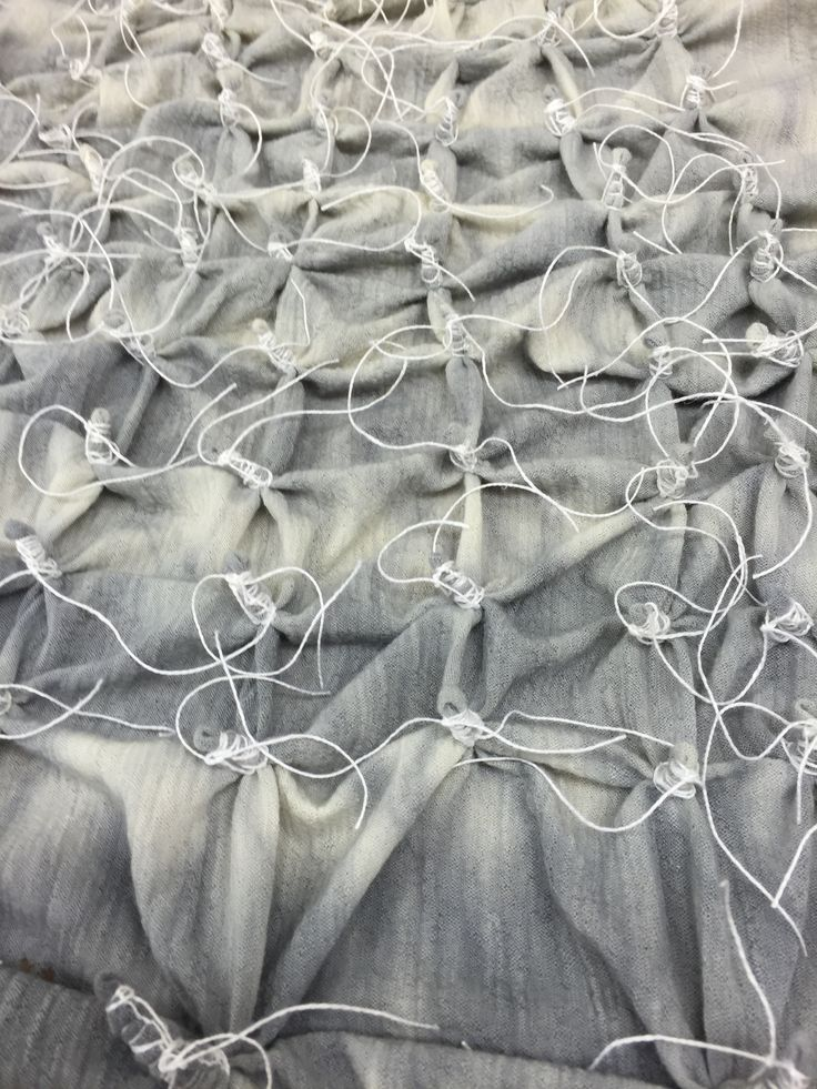 The attention to detail in creating an amazing pattern - Shibori by Maria Falk