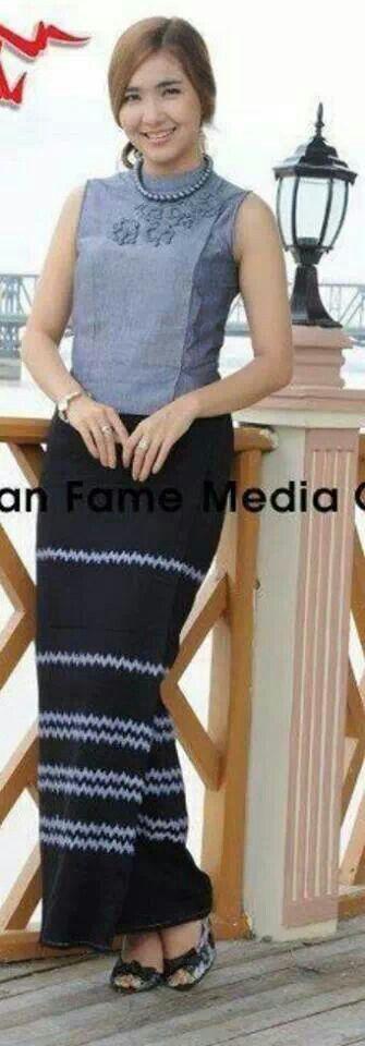 myanmar cotton dress