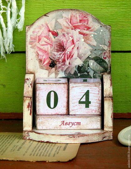 Мебель ручной работы. Ярмарка Мастеров - ручная работа Старая роза. Вечный календарь.. Handmade.
