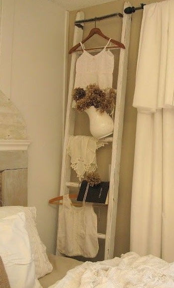 136 Best Decor   Ladders As Decoration Images On Pinterest | Bathroom,  Bathrooms And Ladder