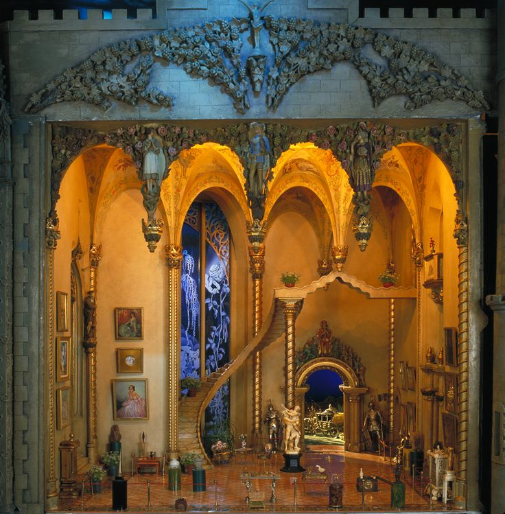 Dollhouse Miniatures Chicago: 1000+ Images About Set Design Models, Sketches And