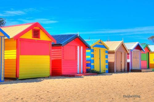 Bathing Boxes, Brighton Beach Melbourne