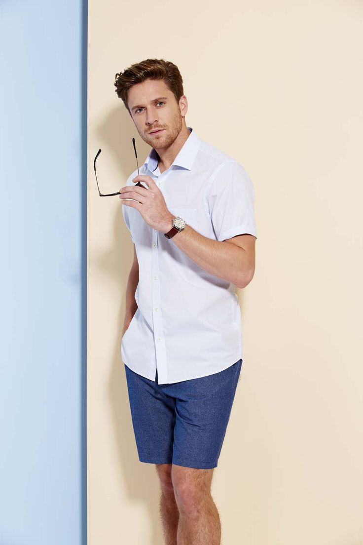 It's hard to find a shirt that ticks all the boxes, but our tailored micro check comes pretty close. The powder blue finish is an all-year-round staple, underpinned by a subtle check that screams classically casual.