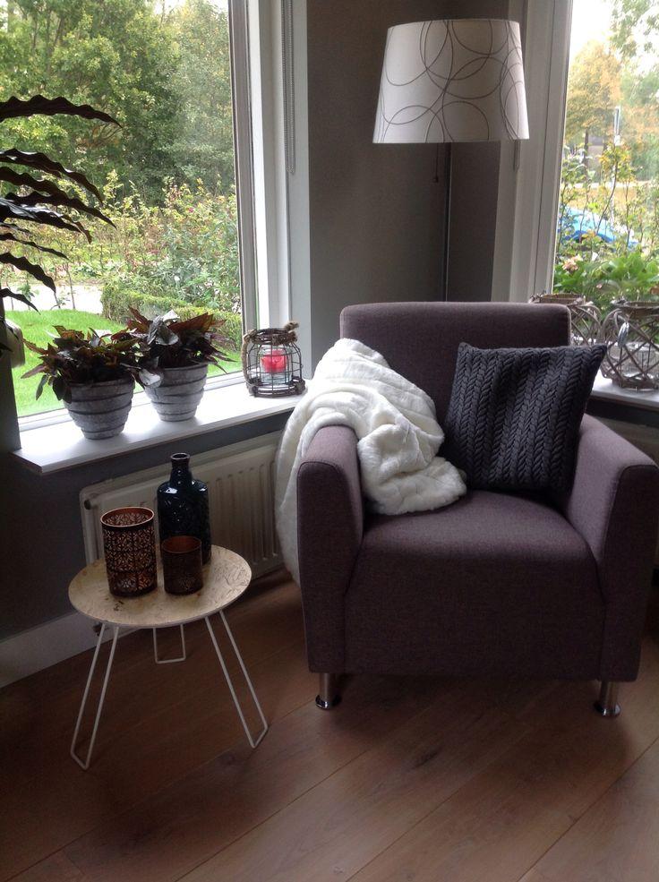 25 beste idee n over gezellig hoekje op pinterest gezellige hoek kussen kamer en hoekjes - Plaid voor sofa met hoek ...