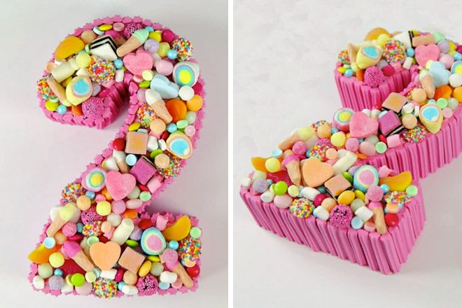 29 creative number birthday cakes to make | Mum's Grapevine