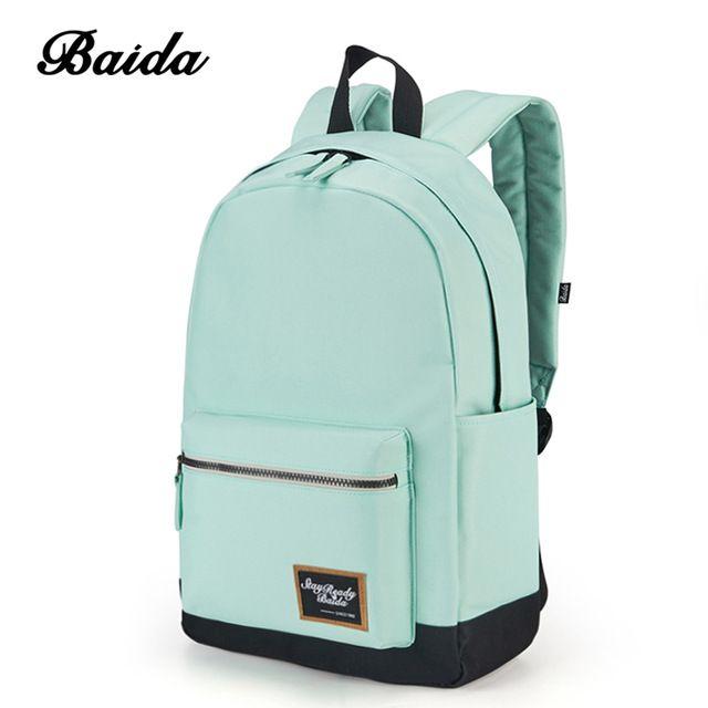 Байда мода рюкзак Для женщин отдыха и путешествий Рюкзаки для Обувь для девочек подростков стильный контраст Цвет элегантный дизайн школьная сумка