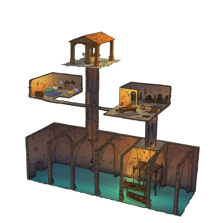 Photo: an other dungeon under a well, very very small :)