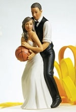 basketball couple wedding cake topper 17 best images about visions on black 11101