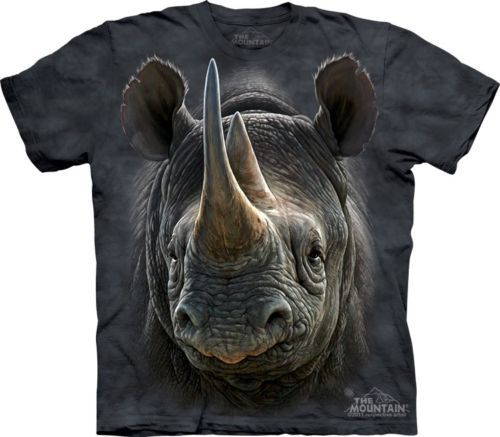 The Mountain Brand BLACK RHINO T-shirt - Adult and Child Sizes Available | eBay
