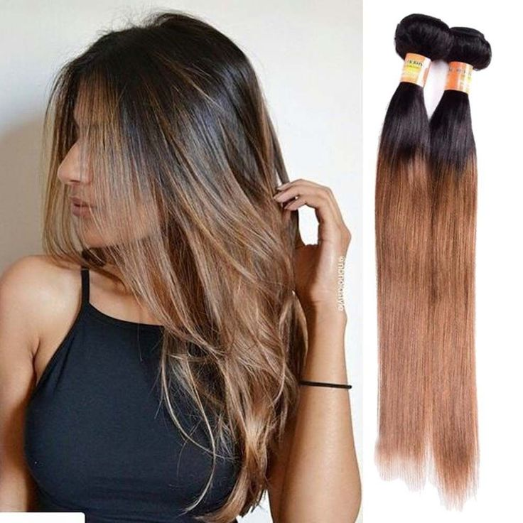"3Bundles 22"" 100% Real Human Hair Extension 300g 1b/30# Silky Straight Hair Weft #Unbranded"