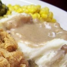 This old-fashioned brown gravy can be made with drippings from roast beef, pork, chicken, or even turkey. Always turns out wonderful.